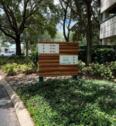 Upgraded Signage
